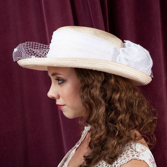1970s, Plaza Suite Straw Hat, 1970s Hat, Straw Ha… - image 6