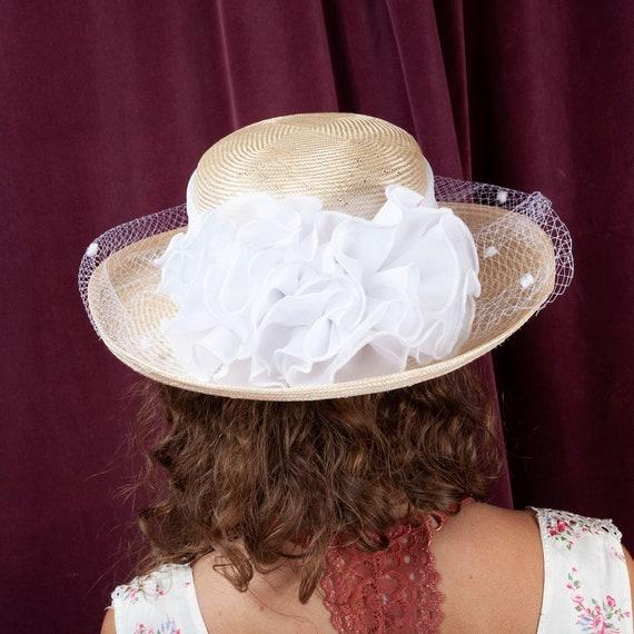 1970s, Plaza Suite Straw Hat, 1970s Hat, Straw Ha… - image 4