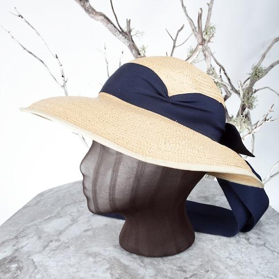 1910's Vintage Straw Hat, XS Hat, Straw Hat, Sun … - image 4