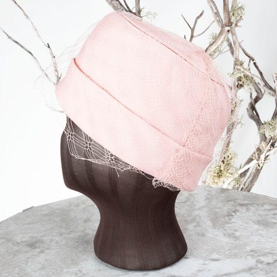 1950s Carmelita of California Vintage Pillbox Hat… - image 4