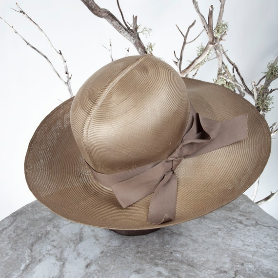 1950s MAY-D&F Vintage Straw Hat, 1950s Hat, Straw… - image 6