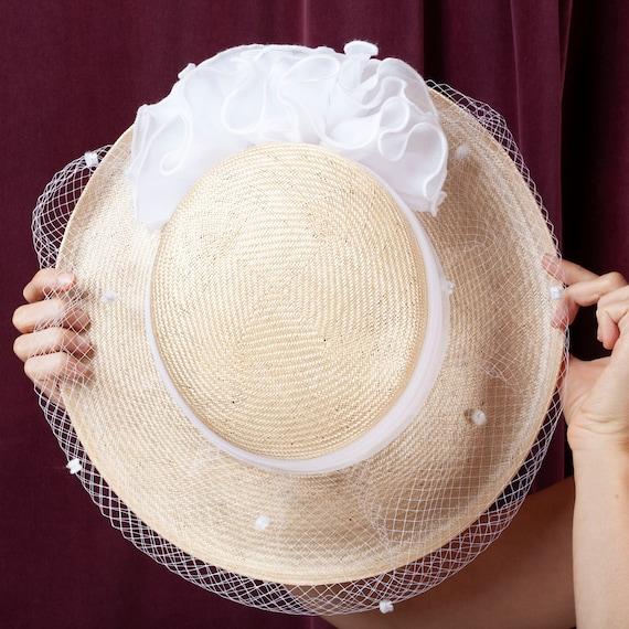 1970s, Plaza Suite Straw Hat, 1970s Hat, Straw Ha… - image 8