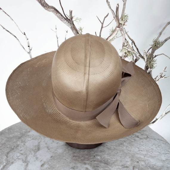 1950s MAY-D&F Vintage Straw Hat, 1950s Hat, Straw… - image 5