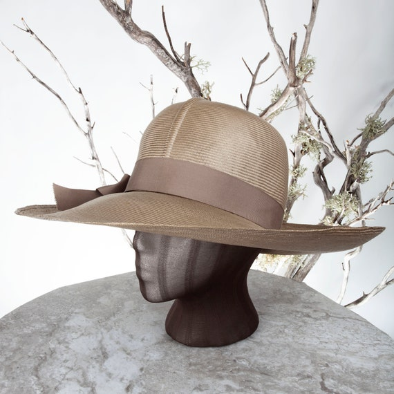 1950s MAY-D&F Vintage Straw Hat, 1950s Hat, Straw… - image 2