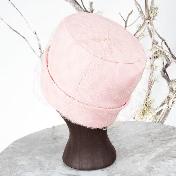 1950s Carmelita of California Vintage Pillbox Hat… - image 5