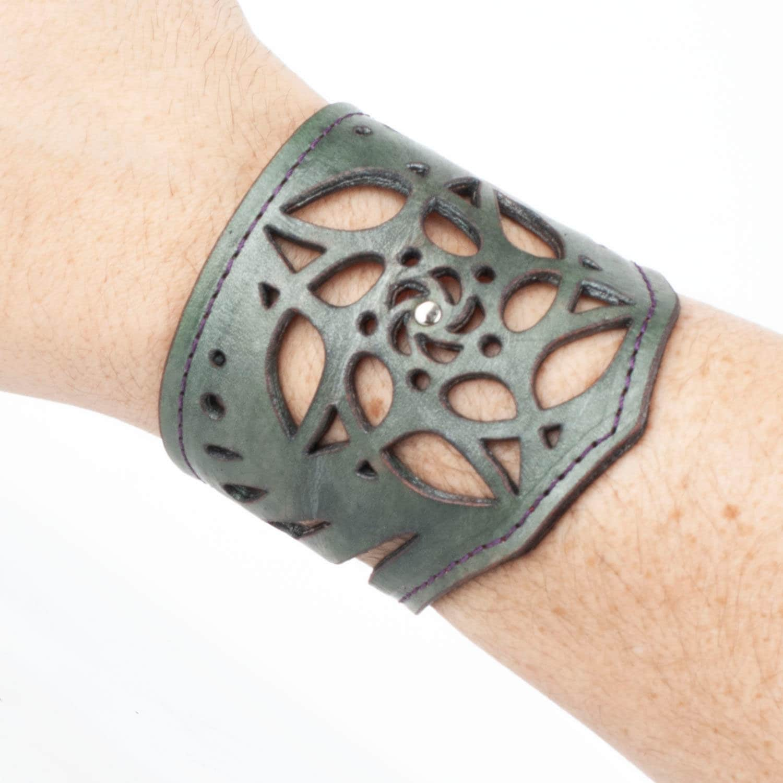 3 Leather Cuff Bracelet UNISEX Bracelet Wrap CuffLeather Bracelet Leather Cuff Bracelet Wrap Leather Bracelet Turns Around Your Hand
