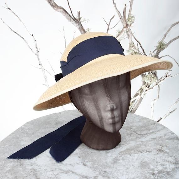 1910's Vintage Straw Hat, XS Hat, Straw Hat, Sun … - image 2