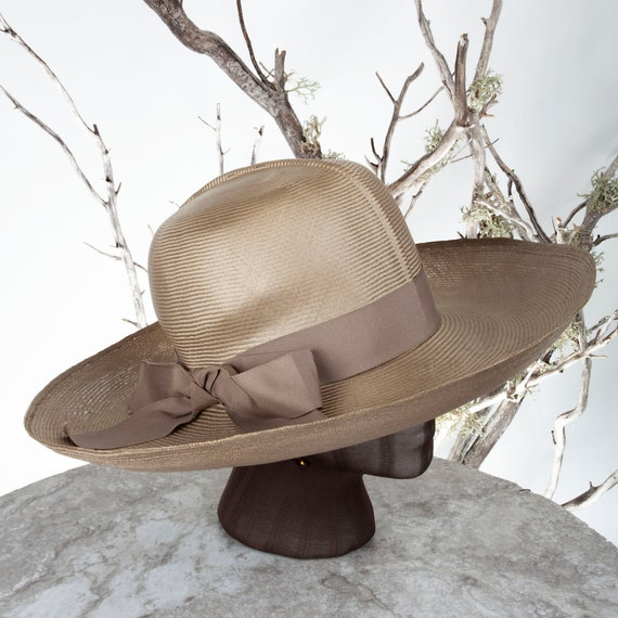 1950s MAY-D&F Vintage Straw Hat, 1950s Hat, Straw… - image 8