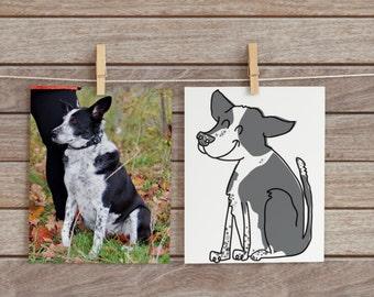 Custom Dog or Cat Drawings