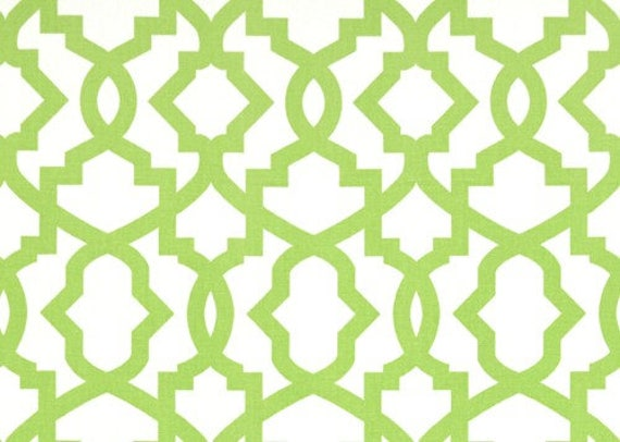 1 Yard Kiwi Green Sheffield Fabric Premier Prints Lattice Etsy