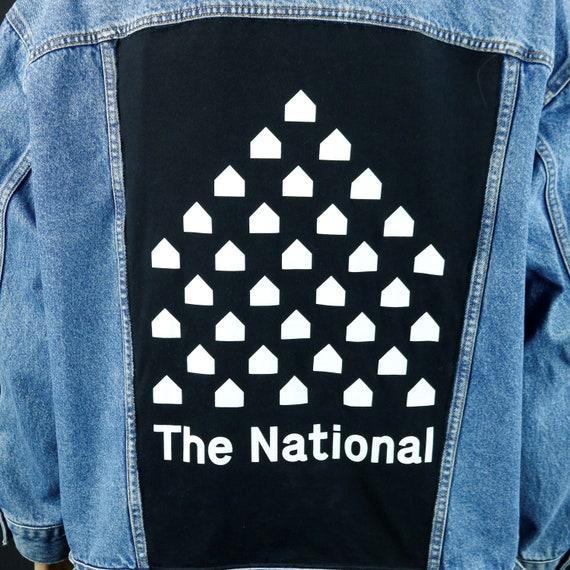 The National Band Levis Denim Jacket Studio Barn Blue Jean Adult 2XL