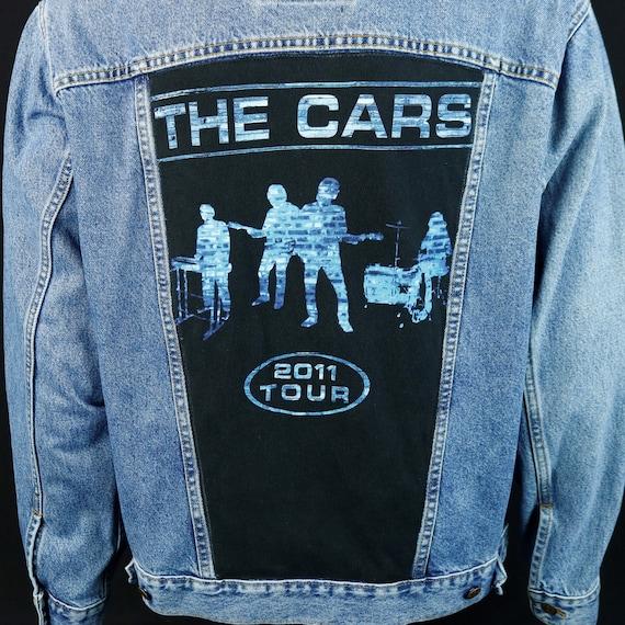 The Cars Levis Denim Jacket Ric Ocasek Band Blue Jean Trucker Medium