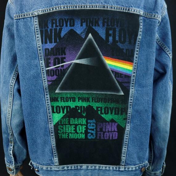 Pink Floyd Levis Denim Jacket Animal Blue Jean Wish You Were Here Mens XXL