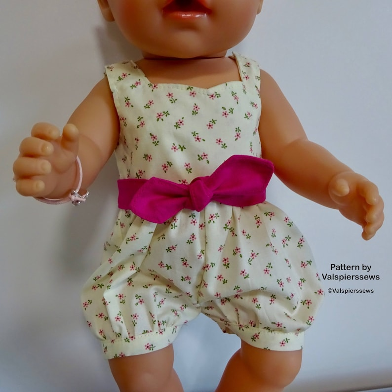 Baby Doll Rompers Includes video instruction Easy Side image 0