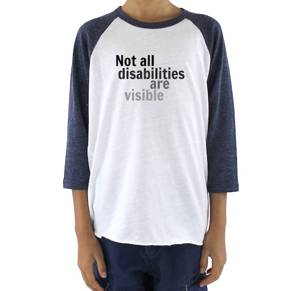 not all disabilities are visible - 570×570