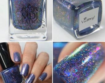 Hasil gambar untuk Nail polish creations with a combination of glitter