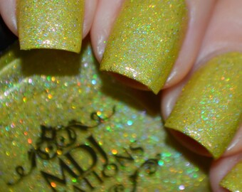 New! Yellow Inspiration from the ROY G. BIV collection of colorshift holographic indie polish by MDJ Creations