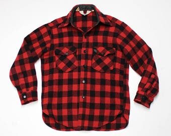 Woolrich Buffalo Button Up
