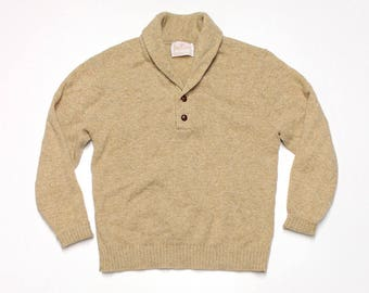 Henley Pullover Sweater