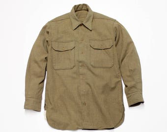 WWII US Army Wool Shirt