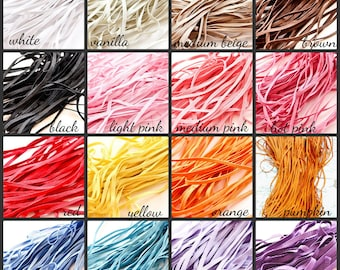 """5 YARDS 1/8"""" Skinny Elastic for Baby Headbands Sewing Smocking - Pick Your Color --- ETSY"""