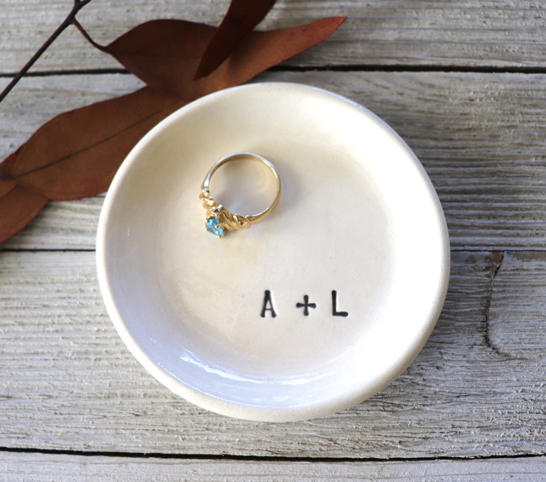 Ring Dish For Bridesmaid Bridesmaid Ring Dish Personalized Ring Dish Engagement Ring Holder Dish
