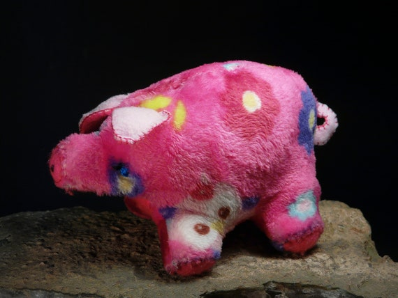 Lucky Piggy Pig Good Luck Charm Symbol Of Happiness Financial Etsy