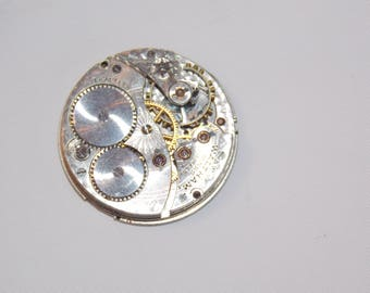 Antique 30mm Etched Pocket Watch Movement