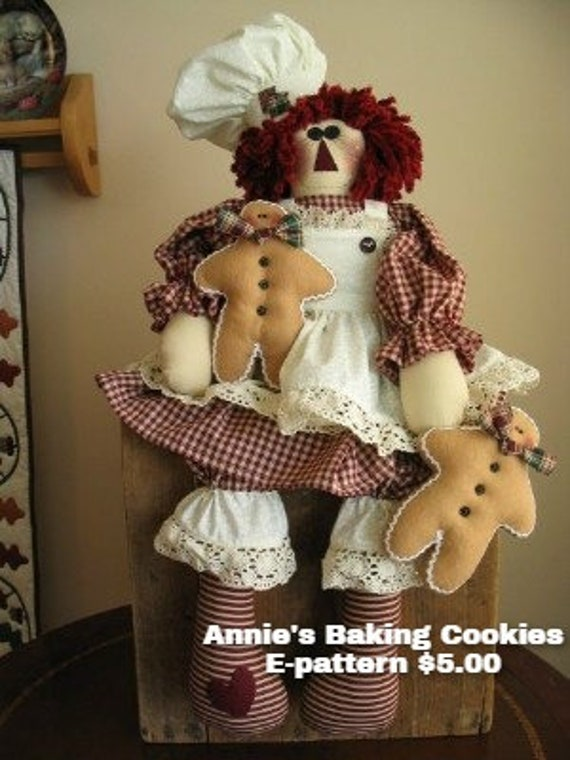 Annie's Baking Cookies Instant Downloadable Pattern