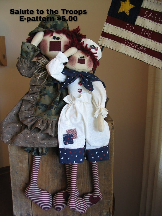 Annie's Salute To The Troops E-pattern
