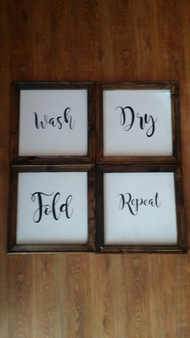 Laundry Room Decor Laundry Room Signs Wall Hanging Rustic Home Decor Country Living Wedding Gift Gift For Her Home Decor