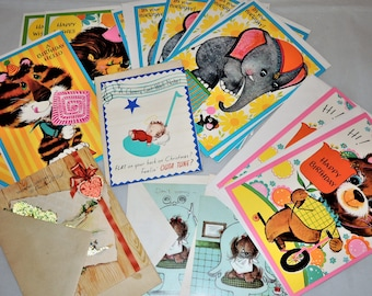 Vintage Collection of Unused Greeting Cards with Envelopes