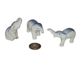 Bone china tiny elephant excellent condition
