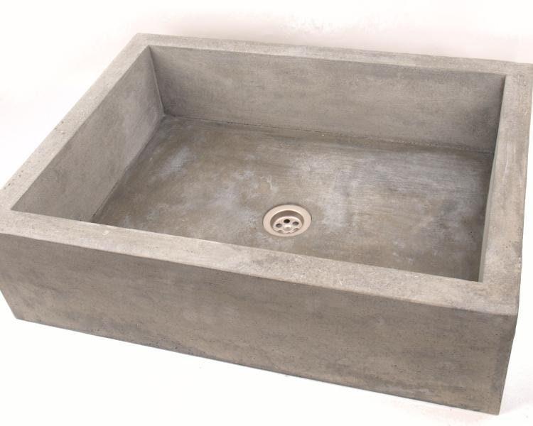 waschbecken aus beton ub3 etsy. Black Bedroom Furniture Sets. Home Design Ideas