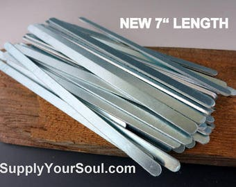 1//4 Wide ImpressArt Stamping Blanks Bracelet Blanks Aluminium Pkg of 12