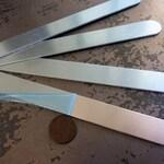 "Aluminum Bracelet Blank, 5/8""x6"", ImpressArt Metal Cuff Bracelet, 14G Aluminum Stamping Blanks, Cuff Blanks"