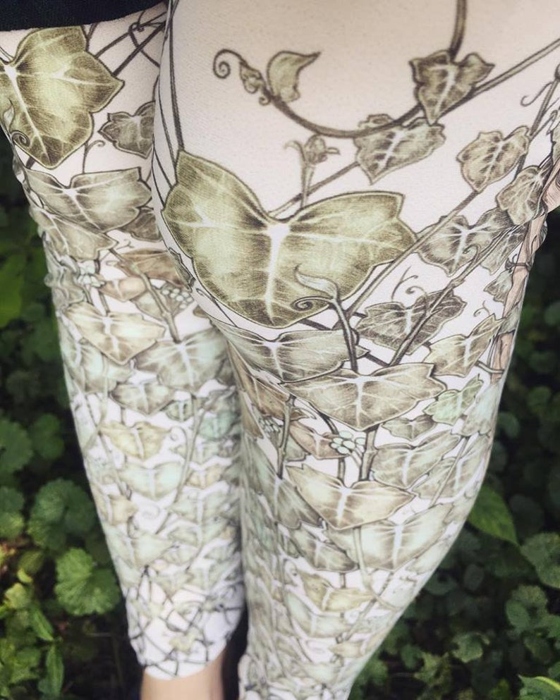 IVY LEGGINGS Leggings  Queen Ivy of the Sun Legging Ivy Vines image 0