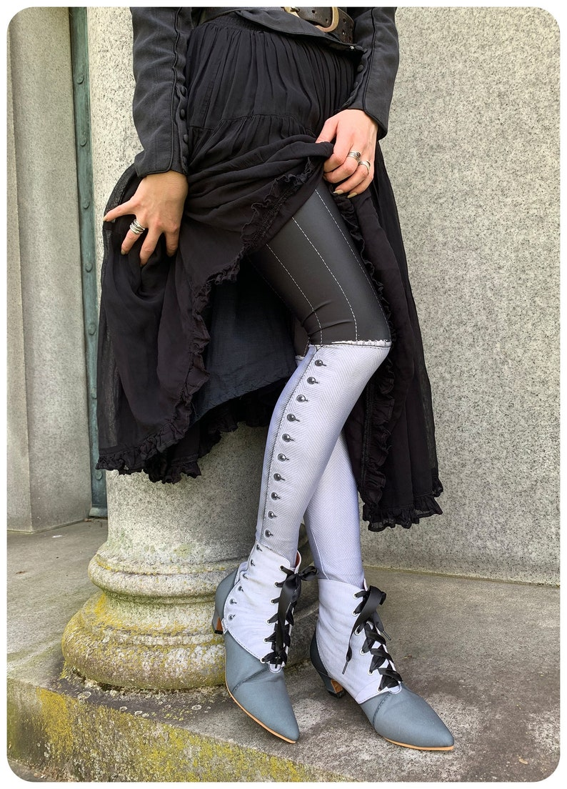 Saloon Leggings  Victorian Spat Leggings  SALOON  womens image 0