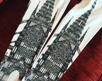 last pairs! white cathedral leggings