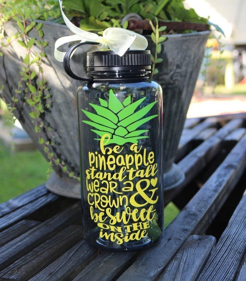7df39fd459 Be a Pineapple Water/Motivational Water Bottle/34oz/Water | Etsy