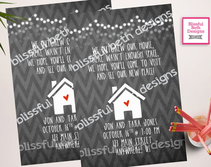 HOUSEWARMING INVITATION, Housewarming Invitation, Home Sweet Home, House Warming, Housewarming Invite, New Place, New Home