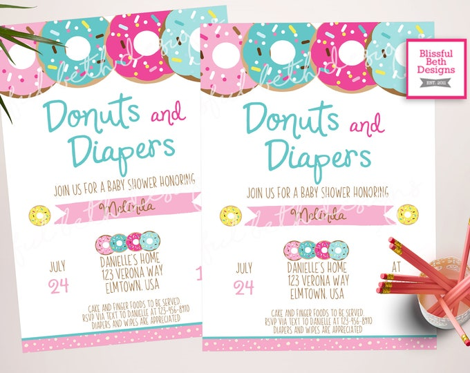 Donuts and Diapers, Donut Baby Shower, Donuts, Baby Shower, Donut Baby Showers, Donuts and Diapers, Baby Shower