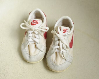 huge selection of 8755f 24a35 Vintage RARE 80s Nike Sneakers, Made in Korea, Baby Size 2 12  ITEM-NYC