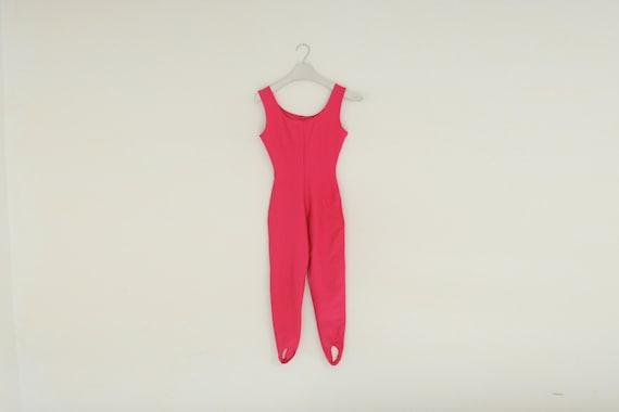 Vintage 80's Jacques Moret Stretch Hot Pink Fitnes
