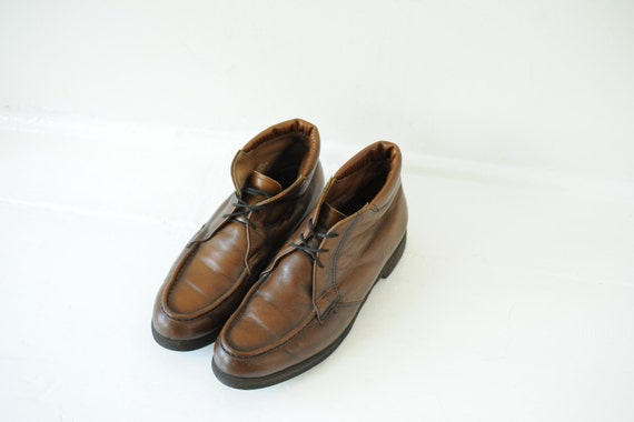 Vintage Early 60's Red Wing USA Union Made Brown L