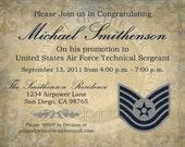 Items Similar To Military Promotion Party Invitation Any Branch Any
