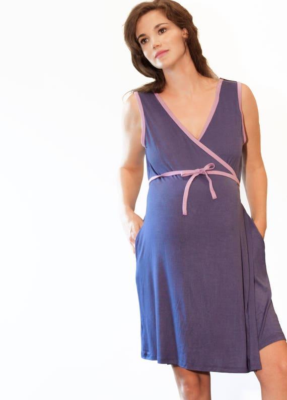 Birth & Breastfeeding Gown