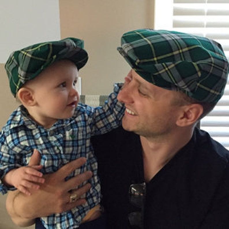 86ac58fd7cad9 Father and Son Cape Breton Hats Grandfather Grandson Matching