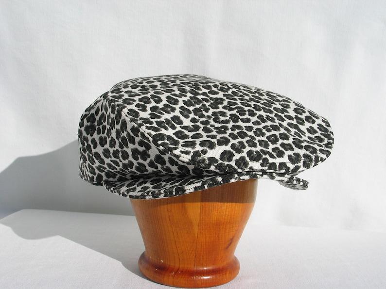 1bb16fa4ac5 Leopard Print Newsboy Hat Safari Newsboy Leopard Flat Cap