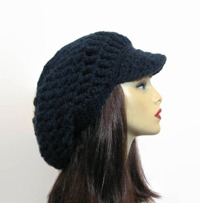 35ebbe38c1 Chapeau rasta bleu foncé Dreadlocks chapeau au Crochet bleu | Etsy